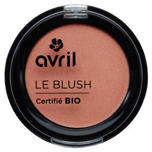 Blush Pêche Rosé Certifié Bio Naturel Cosmétique Ecologique AVRIL