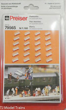 Preiser N #79565 Park Benches (24 Pieces) 1:160th Scale
