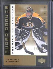 2002-03 Upper Deck Premiere Hockey Gold Super Rookie #45 Tim Thomas No 97 of 199