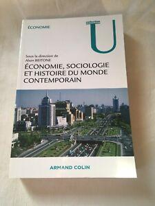 Économie, sociologie et histoire du monde contemporain. Alain Beitone