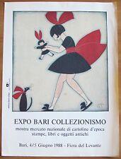 EXPO BARI COLLEZIONISMO_Mostra Mercato_Bari 4/5 Giugno 1988_(STO) SERGIO TOFANO*