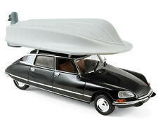 Citroën DS 21 Pallas 1973 - Black with boat on roof 1:43 Norev 157072
