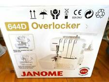 Janome Overlocker 644D BRAND NEW in box with instructional DVD