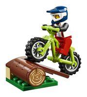 LEGO City Mountain Dirt BMX Bike & Minifigure & Ramp Train Scenery 60197 60198
