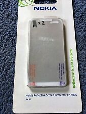 Genuine Original Reflective Screen Protector CP-5006 - Nokia C7 Mobile Phones x2