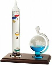 Galileo Weather Ball and Thermometer Combination