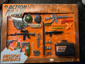Vintage Action Man  Mission Defence Accessories/ HASBRO / ( NEW IN BOX ) 1996