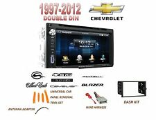 CHEVROLET Malibu IMPALA Touchscreen Dvd Bluetooth Stereo Double Din Dash Kit
