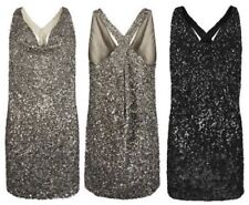 FABULOUS ALL SAINTS SCALA SEQUIN EMBELISHED COCKTAIL PARTY MINI DRESS UK 6,EU 34