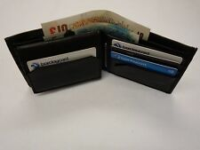 Suave Piel de Oveja Cuero Billetera delgada ideal para bolsillo trasero, euros y dólares
