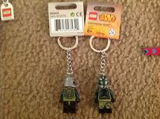 Lego 853474 KEYCHAIN Key ring bag  2015  DISNEY STAR WARS  Commander Gree new