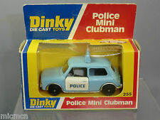 DINKY TOYS MODEL  No.255  'POLICE'  MINI CLUBMAN  MIB