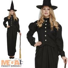 Classique Costume de Sorcière Femmes Déguisement Wicked Halloween Adultes Costume Outfit