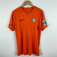 Balmain Football Club Soccer Jersey Shirt Mens Large Orange Short Sleeve