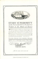 1916 Packard Automobile -  Original Advertisement Print Car Ad J456
