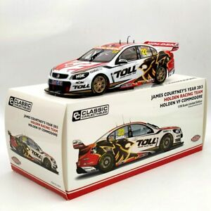 Classic 1:18 James Courtney's 2013 Toll  Holden VF Commodore #22 NO.18535 Models