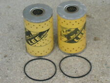 Vintage NOS Lee L-141 L141 Oil Filter Cartridge Canister Gasket Chevy Pontiac GM