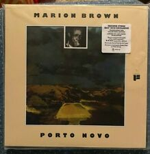 MARION BROWN PORTO NOVO RSD 2020 EXCLUSIVE RED VINYL LIMITED 1500 WORLDWIDE