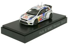 RARE VW POLO 6R R WRC #2 2014 LATVALA - ANTILLA 1:43 SPARK (OEM DEALER MODEL)