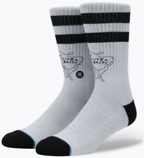 Brand New Men's Stance Live Bait Crew Socks Sz Large 9-12 $14 Value