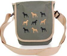 boxer dog breed cross body bag embroidered original design womens messenger bags