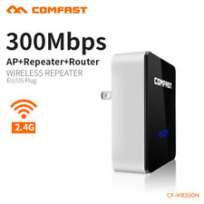 COMFAST 300Mbps WiFi Wireless Repeater AP Router Range Extender 802.11n US Plug