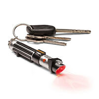 Star Wars DARTH VADER Mini RED Lightsaber Flashlight Keychain
