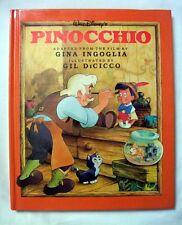 Walt Disney's Pinocchio, 1992 1st Edition, Classic Children's Literature