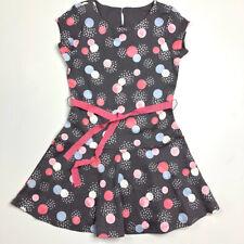 Gymboree Girls 8 Gray Pink Sparkle Dot Cozy Fairytale Dress