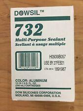 12 Tubes DOWSIL 732 Aluminum 10.1oz 300ML Tubes