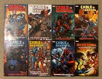 Deadpool & Cable Graphic Novels Volume 1-7 Plus Bonus