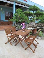 Salons et sets de meubles extérieurs en bois