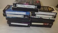 Lot Of 14 Pre-Recorded Mix Label T-120  VHS Tapes Sold As Is Used Blanks Lot X