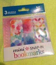 Erin Condren Mini Snap-in Classic Bookmarks Life Planner Fast