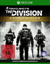 Tom Clancy's The Division - Gold Edition (Microsoft Xbox One, 2016)