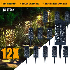 Solar Powered LED Garden Lights  Automatic LED Lamp for Patio Yard Lawn 4/8/12pc