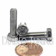 5mm / M5 x 20mm - Qty 10 - Stainless Steel HEX CAP BOLT / Screw 0.80 DIN 933 A2