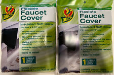 2 X Duck Flexible Outdoor Faucet Cover Winter Insulation Soft Cover 7.5