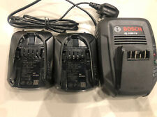 GENUINE Bosch Power (AL1830CV) Battery Charger + 2 x 18v 1.5ah batteries NEW