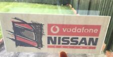 Nissan Racing vodafone BTCC touring car team sticker STW DTM Primera Skyline GTR
