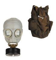 Neuwertig Gasmaske GP5 Original Armee Schutzmaske mit Filter ABC Atemschutzmaske