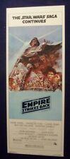 Empire Strikes Back B Original Rolled Nm 14X36 Star Wars Movie Poster 1980