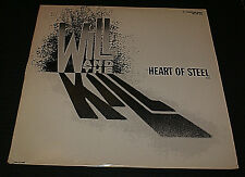 "WILL AND THE KILL ~ HEART OF STEEL  WLP HARD-ROCK 12""NM (UNPLAYED) RARE PROMO"