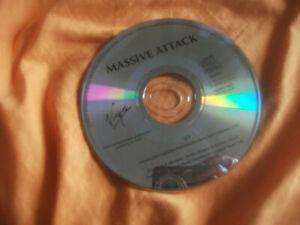MASSIVE ATTACK, SLY, CD SINGLE PROMO, SPANISH