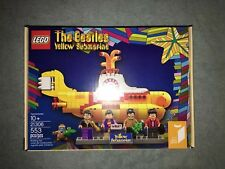 Lego Ideas 21306 The Beatles Yellow Submarine 2016 Complete