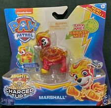 Nickelodeon Paw Patrol Mighty Pups Charged Up Marshall by Spin Master NEW