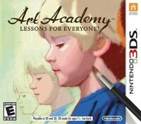 Art Academy: Lessons for Everyone - Nintendo 3DS Game Only