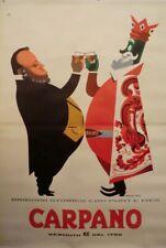 Manifesto Punt E Mes Armando Testa Affiche Ancienne Vintage Poster Carpano