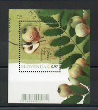 SLOVENIA 2013 FLORA FRUIT TREES MINISHEET SG,MS1038 FINE USED LOT 4744B