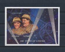 LL86291 Ghana cinema film Laurel & Hardy good sheet MNH